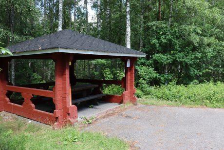 Niskankorpi shelter.